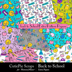 Back to School CPS Extra Paper Pack-$3.00 (CutiePie Scraps)