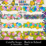 Back to School CPS Border Pack-$3.99 (CutiePie Scraps)