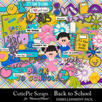 Back to School CPS Embellishment Pack-$3.99 (CutiePie Scraps)