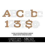 ABC123 Alphabet Pack 1-$2.99 (Carolyn Kite)