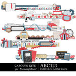 ABC123 Edges Pack-$3.99 (Carolyn Kite)