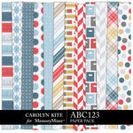 ABC123 Paper Pack 2-$3.99 (Carolyn Kite)