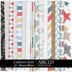 ABC123 Paper Pack 1-$3.99 (Carolyn Kite)