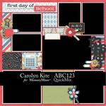 ABC123 QuickMix-$5.99 (Carolyn Kite)