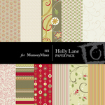 Holly Lane Paper Pack-$3.50 (s.e.i)