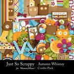 Autumn Whimsy Combo Pack-$4.99 (Just So Scrappy)