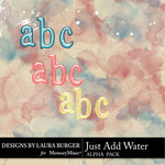 Just Add Water Alphabet Pack-$2.99 (Laura Burger)
