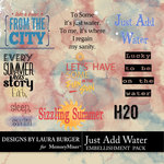 Just Add Water WordArt Pack-$4.99 (Laura Burger)