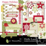 Holly Lane Embellishment Pack-$3.50 (s.e.i)