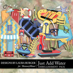 Just Add Water Embellishment Pack-$3.99 (Laura Burger)