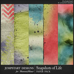 Snapshots of Life Blended Papers-$3.99 (Jumpstart Designs)