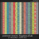 Snapshots of Life Paper Pack-$3.99 (Jumpstart Designs)