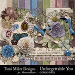 Unforgettable You Combo Pack-$7.99 (Tami Miller)