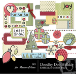 Doodley Doo Holiday Embellishment Pack-$3.50 (s.e.i)