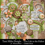 Live Life to the Fullest Combo Pack-$7.99 (Tami Miller)