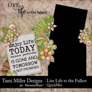 Live life to the fullest qm p001 medium