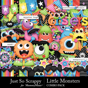 Little monsters kit medium