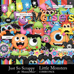 Little Monsters Combo Pack-$3.49 (Just So Scrappy)