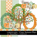Cozy Autumn Mini Freebie-$0.00 (Carolyn Kite)