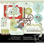 Snowed In Embellishment Pack-$2.99 (My Minds Eye)