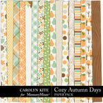Cozy Autumn Paper Pack 1-$3.99 (Carolyn Kite)