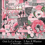 I Am A Warrior Combo Pack-$4.99 (Ooh La La Scraps)