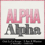 I am a warrior kit alphas small