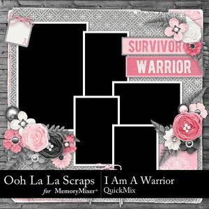 I am a warrior quickmix p001 medium