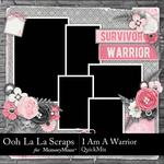 I Am A Warrior QuickMix-$3.99 (Ooh La La Scraps)