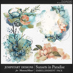 Sunsets in Paradise Accents Pack-$3.49 (Jumpstart Designs)