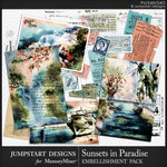 Sunsets in Paradise Cards Pack-$3.99 (Jumpstart Designs)