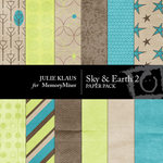 Sky and Earth Paper Pack 2-$4.00 (Julie Klaus)