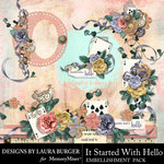 It Started With Hello Clusters Pack-$5.99 (Laura Burger)