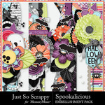 Spookalicious JSS Border Pack-$1.99 (Just So Scrappy)