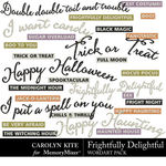 Frightfully Delightful WordArt Pack-$2.10 (Carolyn Kite)