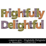 Frightfully Delightful Alphabet Pack-$2.10 (Carolyn Kite)