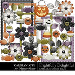 Frightfully Delightful Embellishment Pack 2-$3.99 (Carolyn Kite)