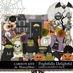 Frightfully Delightful Embellishment Pack 1-$4.99 (Carolyn Kite)