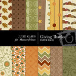 Giving Thanks Paper Pack-$4.00 (Julie Klaus)
