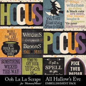 All hallows eve journal cards 2 medium