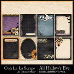 All Hallows Eve Journal Cards 1-$1.99 (Ooh La La Scraps)