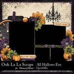 All Hallows Eve QuickMix-$3.99 (Ooh La La Scraps)