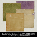 Autumn Breeze TM Tattered Paper Pack-$3.99 (Tami Miller)