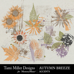Autumn breeze accents small
