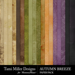 Autumn Breeze TM Paper Pack-$2.80 (Tami Miller)