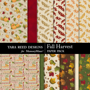 Fall harvest paperpack preview medium