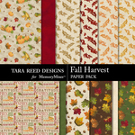 Fall Harvest TR Paper Pack-$3.99 (Tara Reed Designs)