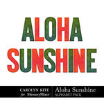 Aloha Sunshine Alphabet Pack-$2.99 (Carolyn Kite)