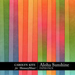 Aloha Sunshine Solid Paper Pack-$2.99 (Carolyn Kite)