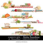 Aloha Sunshine Edges Pack-$3.99 (Carolyn Kite)